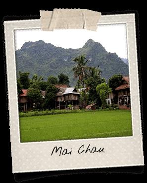 Mai Chau vallée verdoyante nord du Vietnam