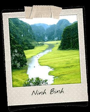 Rivière Tam Coc à Ninh Binh