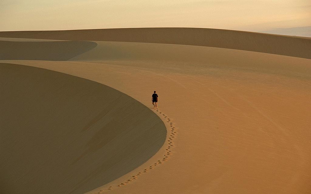 Dune de sable à Mui Ne