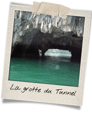 grotte tunel halong canoe