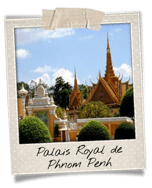 Palais royal de Phnom Penh Cambodge