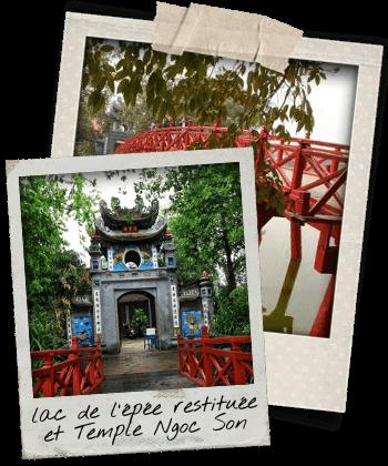 pont rouge et temple ngoc son
