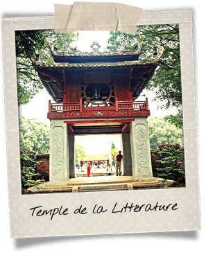 temple litterature hanoi culture