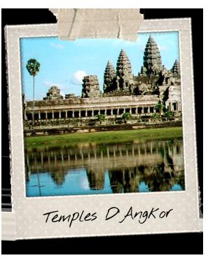 Temples d'Angkor à Siem Reap