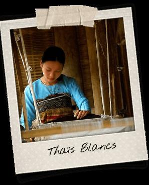 thais blancs artisanat minorites