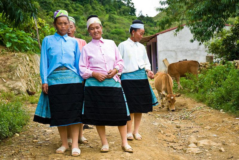 Femmes de la minorité Thai