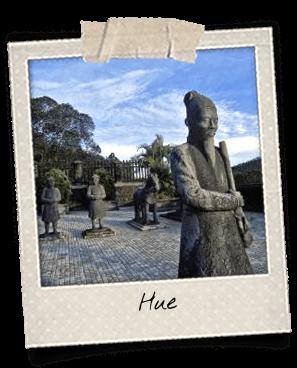 Statue de mandarin à Hue