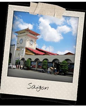 Ben Thanh Market in Saigon
