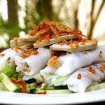 Assiette de banh cuon Vietnam