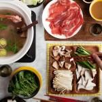 Traditionnelle fondue japonaise