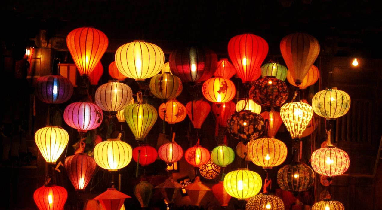 Lanternes à Hoi An, centre Vietnam