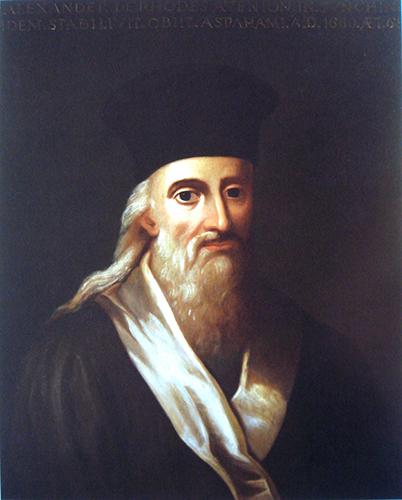 Portrait peint d'Alexandre de Rhodes