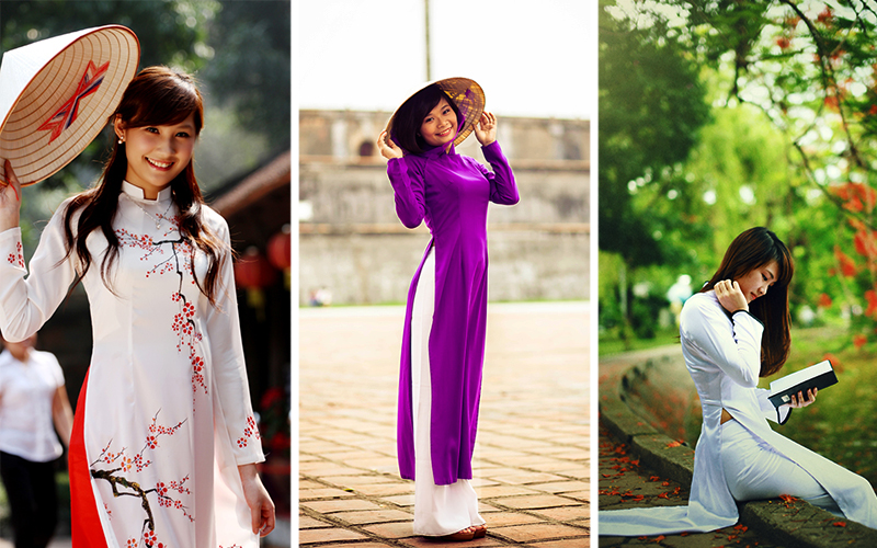 ao dai tenue traditionnelle vietnamienne