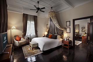 Room in the Metropole Hotel Hanoi