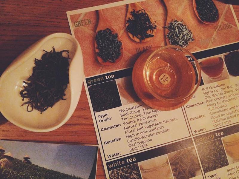 Dégustation de thé vietnamien