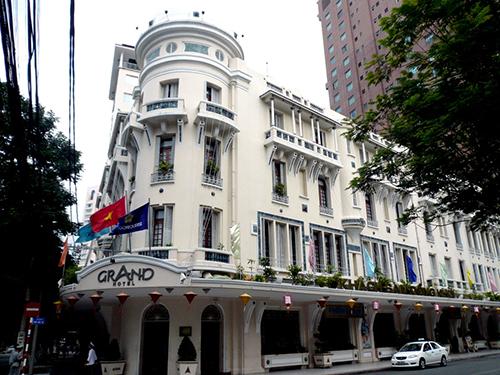 Le Grand Hotel à Saigon, Vietnam