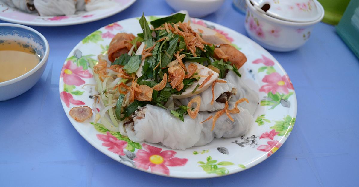 Banh cuon, the Vietnamese breakfast - Nam Viet Voyage