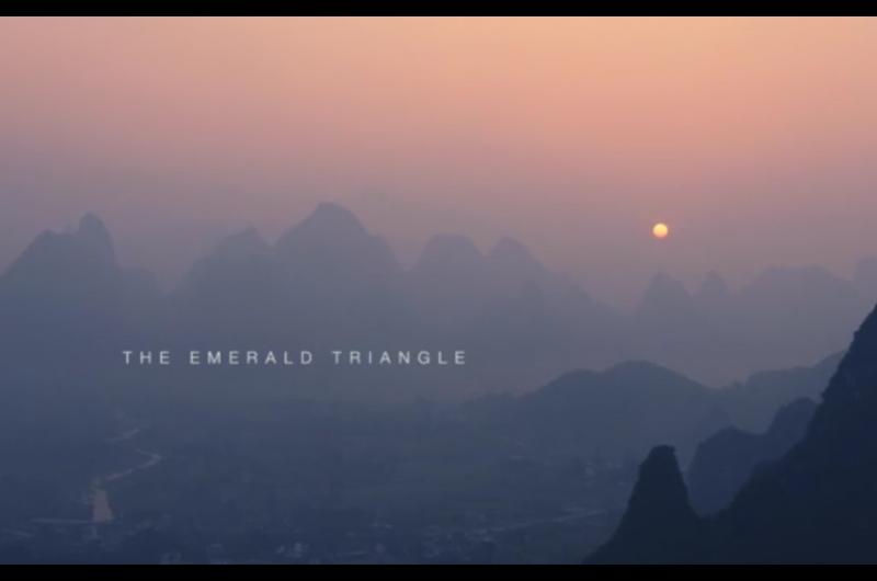 Capture d'écran de la vidéo Triangle d'Émeraude