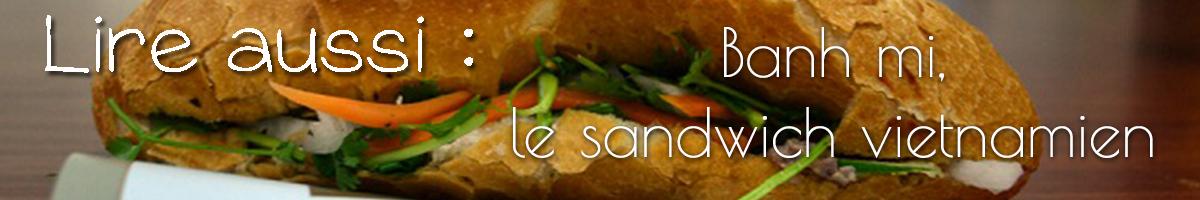 Lire aussi banh mi sandwich viet