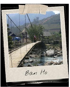 Pont suspendu à Ban Ho
