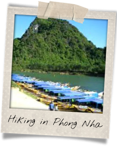 Take a hike in the mountains of Phong Nha