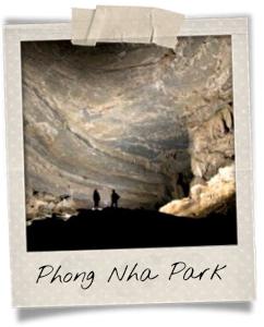 Huge cave in Phong Nha Park