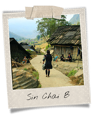 Sin Chai B, village des Dao Rouges