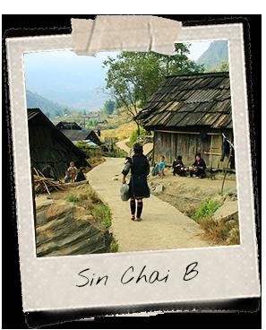 Sin Chai B, village des Dao Rouges