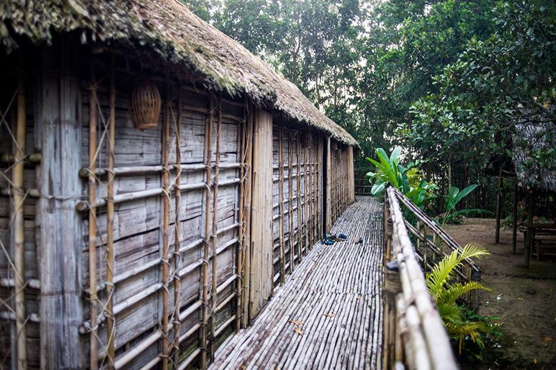 Ta Lai Longhouse est situé au cœur de la jungle de Cat Tien