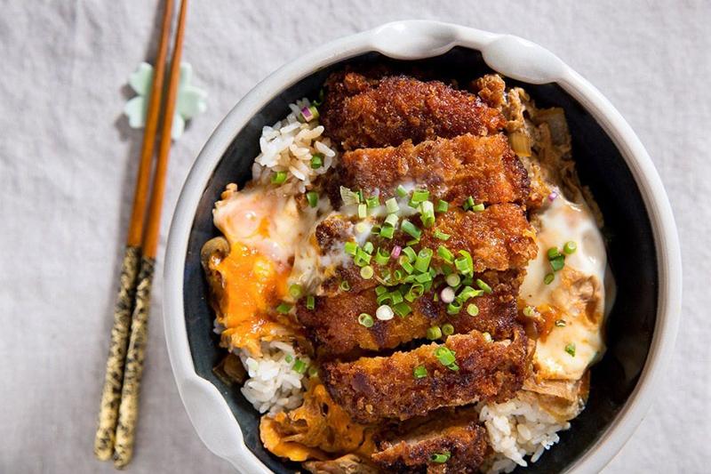 Plat porc et œuf japonais