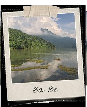 Vue du lac Ba Be