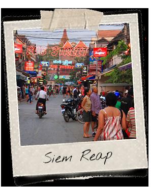 Cambodge Siem Reap Pub Street