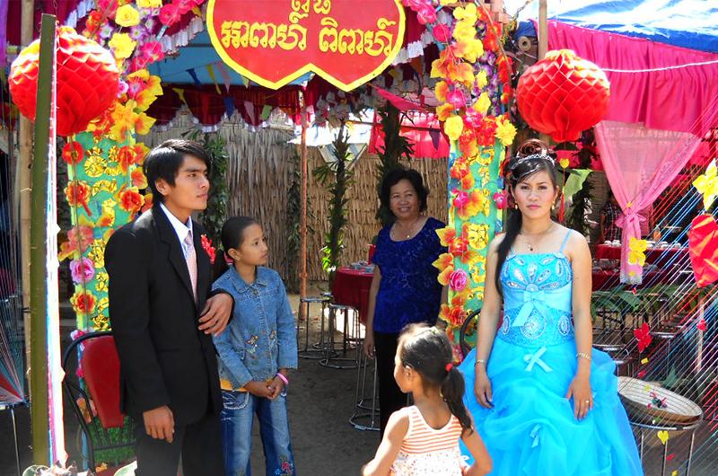 Mariage de Khmers dans le sud du Vietnam