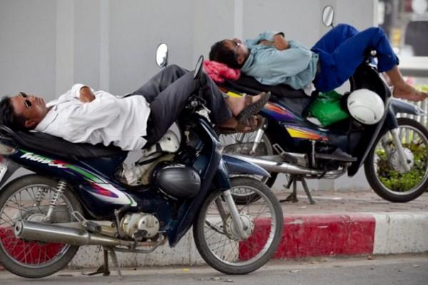 Xe om taxi-moto au Vietnam