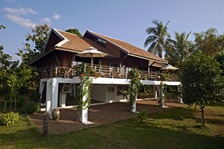View from the outside of the Residence VIP Villa