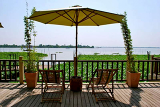 Mekong Riverside terrace