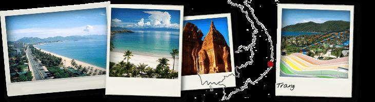 Polaroids photos Nha Trang