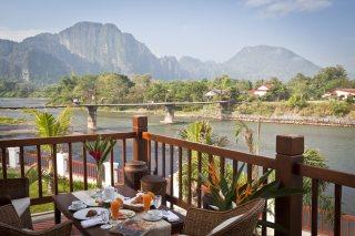 Nam Song River terrace Riverside Boutique