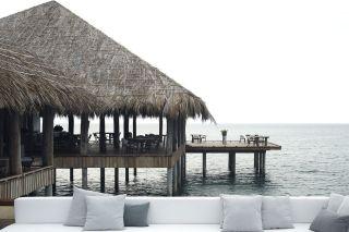 Terrasse sur l'océan Song Saa
