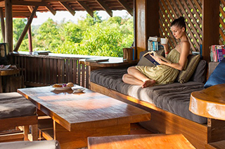 Cafe Lounge au Veranda Natural Kep
