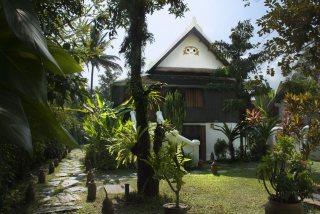 Entrance of the Villa Maydou