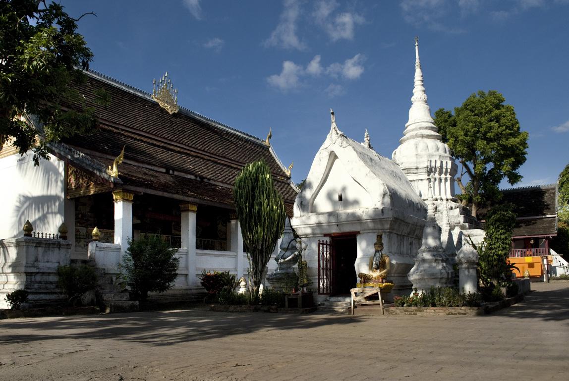 Temple nearby the Villa Maydou