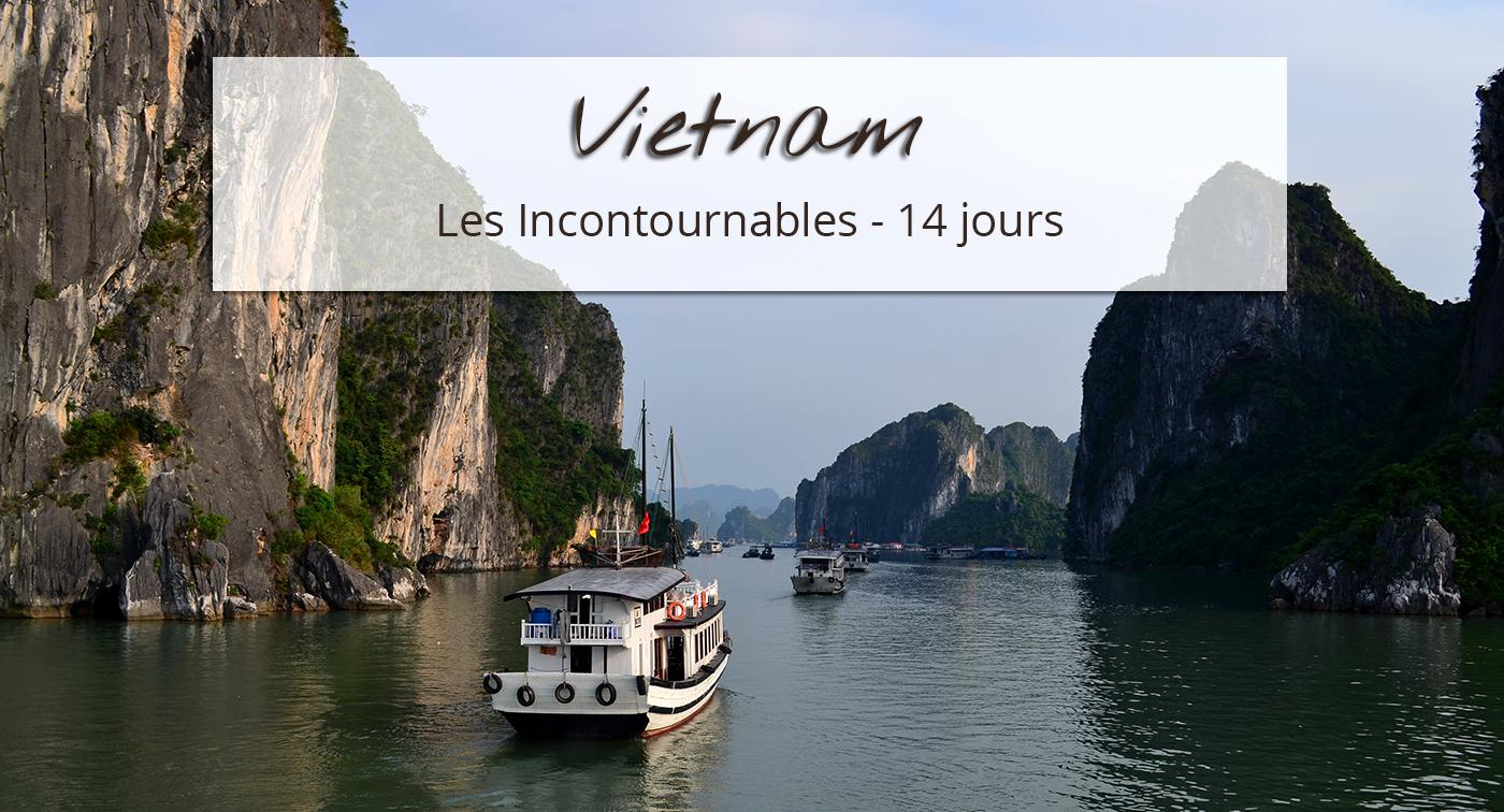 Baie d'halong pour circuit Vietnam 14 jours