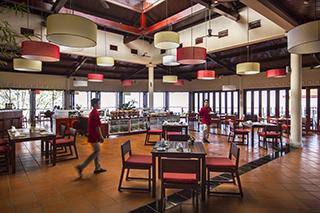 Interior of restaurant Victoria Nui Sam