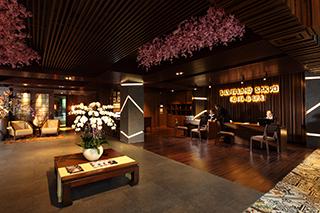 Lobby de l'hôtel Silverland Sakyo