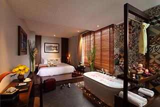 Chambre avec baignoire Silverland Sakyo