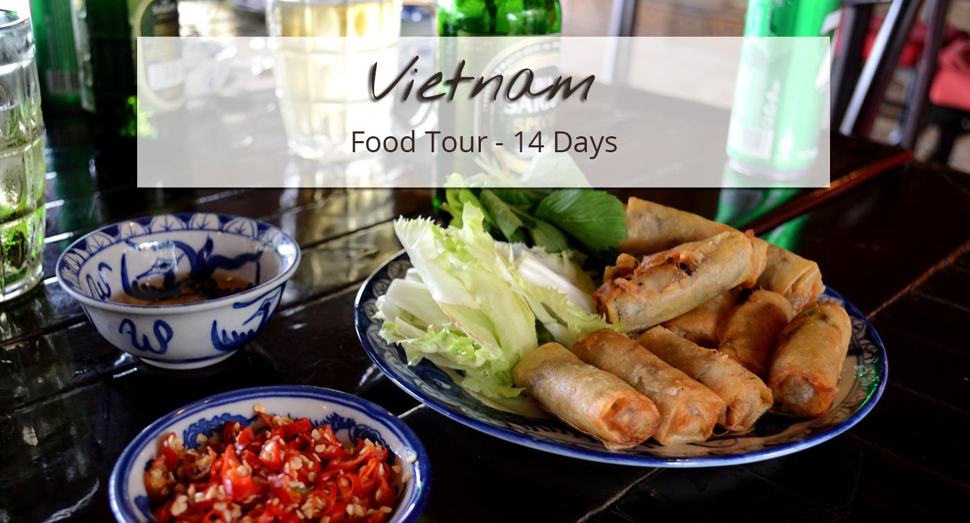 Fried springrolls in a Vietnamese restaurant