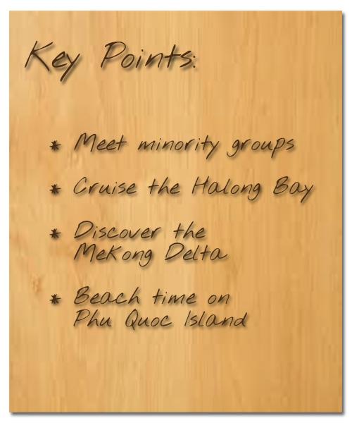 Key Points Vietnam Must-see Beach